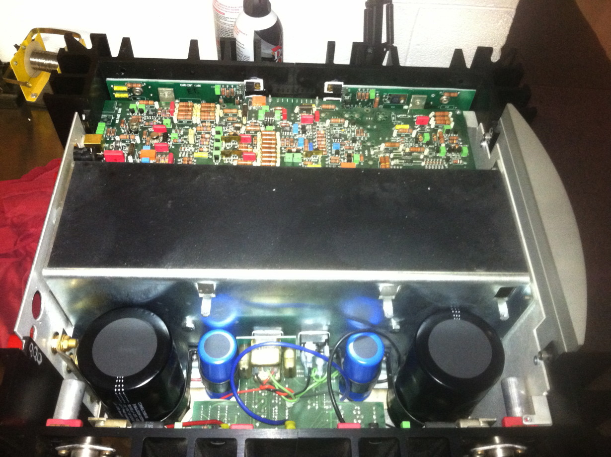 Replacing The Capacitors In A Mark Levinson 332 Power