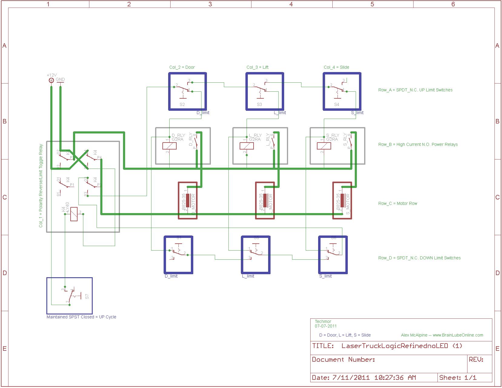Relay Logic Control Diagram Email Me
